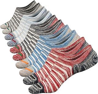 Anliceform, Calcetines tobilleros premium de algodón, estilo casual, antideslizantes para hombre.