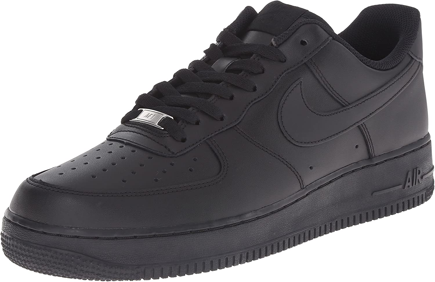 Nike Unisex-Erwachsene Air Force 1 '07 Low-Top Schwarz Black), 38.5 EU B001IDLGN8  | Neu