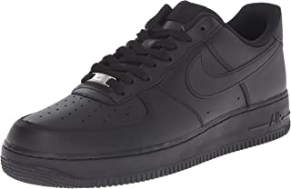 Men?s Air Force 1 Low Sneaker, Black/Black, 9