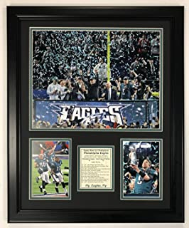 Legends Never Die NFL Philadelphia Eagles Super Bowl 52 Champions Photo Collage, Team Color, 18 x 22