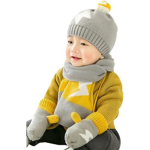 cbfd2cb7b03 Winter Hat and Gloves: Amazon.com