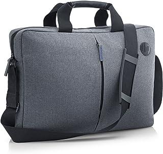 HP Essential Topload (T0E18AA) Umhängetasche mit Reißverschluss für Laptops, Tablets (17,3 Zoll) grau