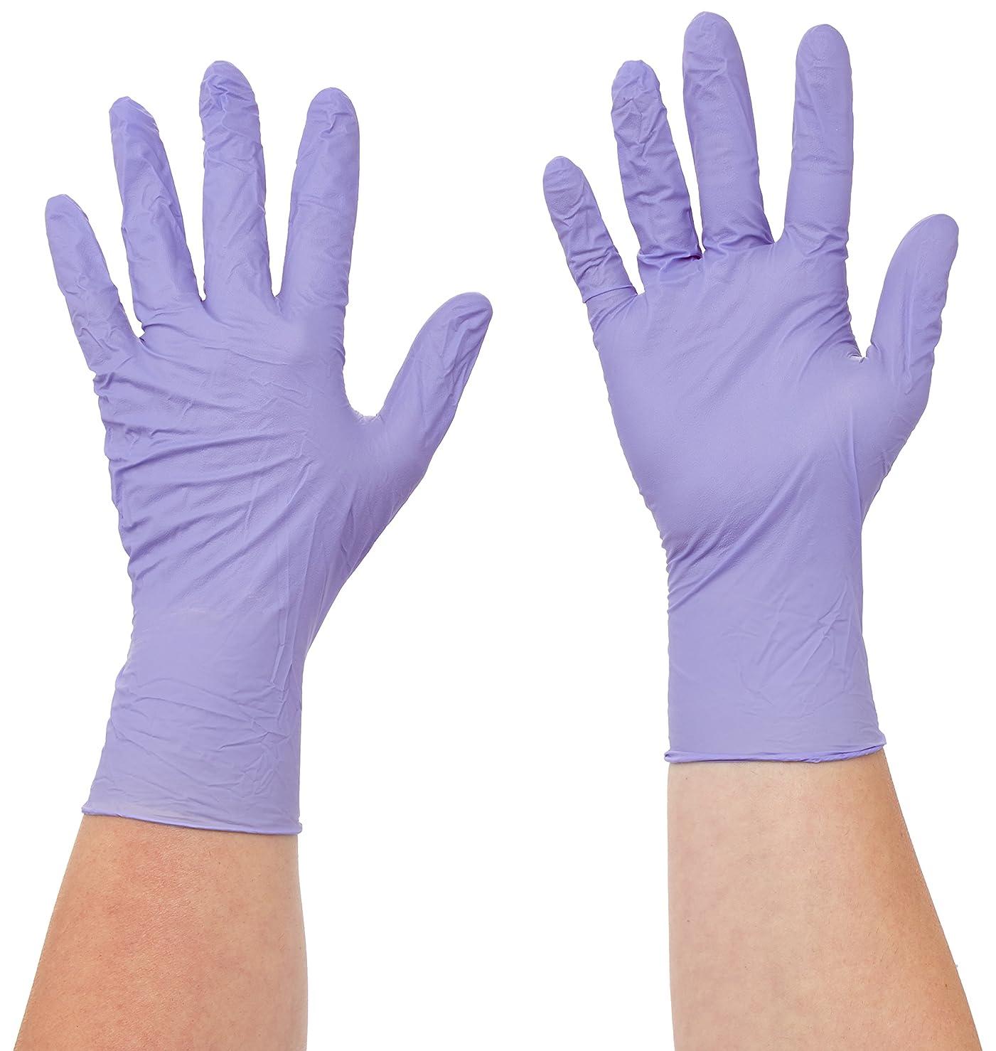 間違えた尊厳妊娠したSemperit 使い捨てニトリル手袋 Xtra Lite 0.14mm 粉無(入数:180枚) 3000001621