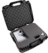 CASEMATIX XL Virtual Reality Headset Case For Oculus Go Headset, Remote, Charger and More Accessories Such as Headphones – Holds Oculus Go 32GB or Oculus Go 64GB