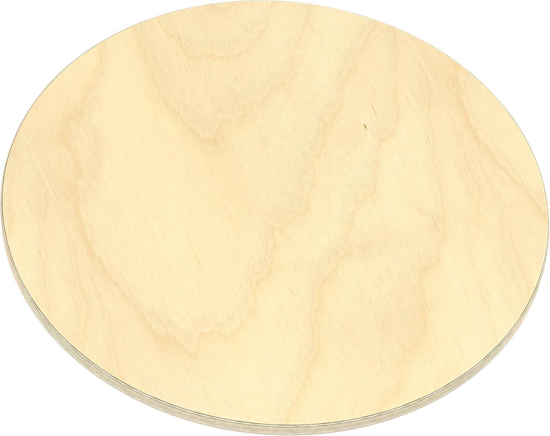 verwendbar AUPROTEC Multiplexplatte 21mm rund /Ø 700mm Holzplatten von 20cm-148cm ausw/ählbar runde Sperrholz-Platten Birke Massiv Multiplex Holz Industriequalit/ät als Tisch-Platte Bistro-Tisch etc