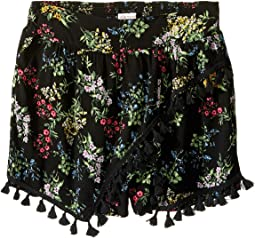 Allison Printed Rayon Shorts (Big Kids)