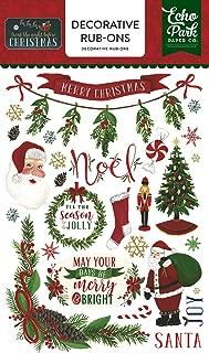 Echo Park Paper Company TWAS The Night Before Christmas Rub Ons