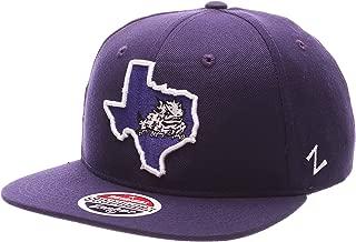 tcu flat bill hats