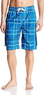 Kanu Surf Men's Swim Trunks (Regular & Extended Sizes), Miles Royal, Large