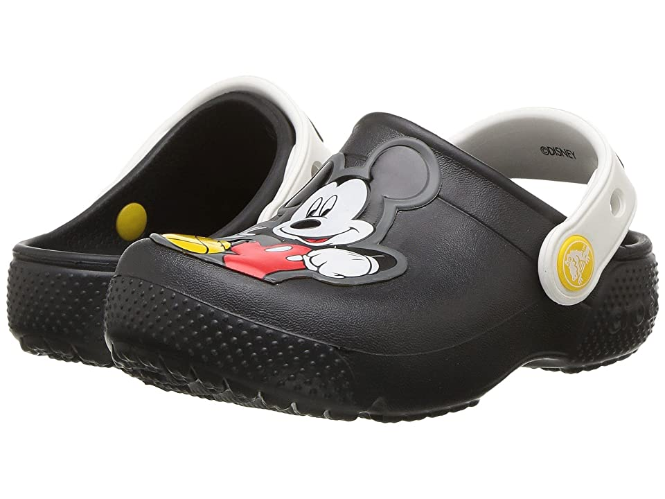 Crocs Kids FunLab Mickey Clog (Toddler/Little Kid) (Black) Boys Shoes