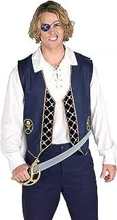 Forum Novelties Men's Adult Pirate Vest Costume Accessory