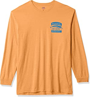 IZOD Men's Big and Tall Saltwater Long Sleeve Graphic T-Shirt