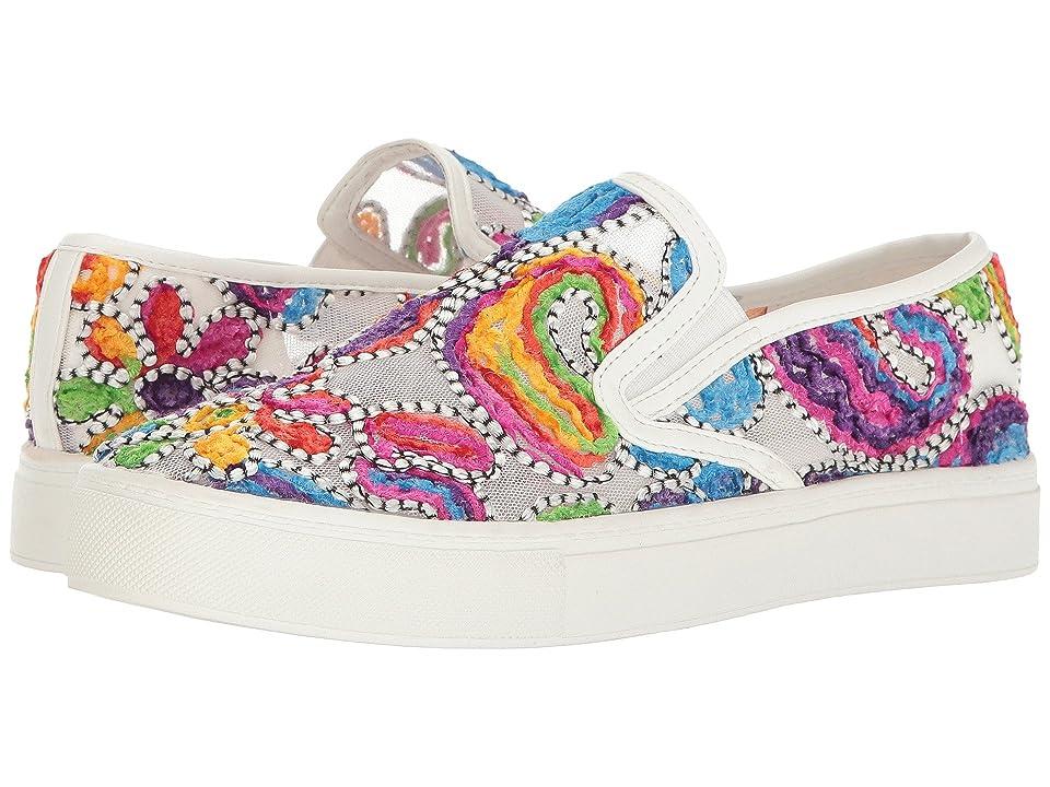 Dirty Laundry Jaunty Mesh Fashion Sneaker (Fuchsia/White) Women