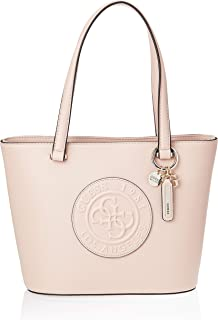 GUESS Women's Celestine Small Tote, Moonstone - VG745622