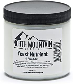 North Mountain Supply Food Grade Yeast Nutrient - 1 Pound Jar