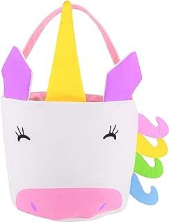 EDS Industries Unicorn Tote Bag, Easter Basket, Kids Halloween Bag, Beach Bags