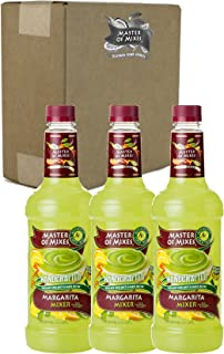 Master of Mixes Margarita Drink Mix, Ready To Use, 1 Liter Bottle (33.8