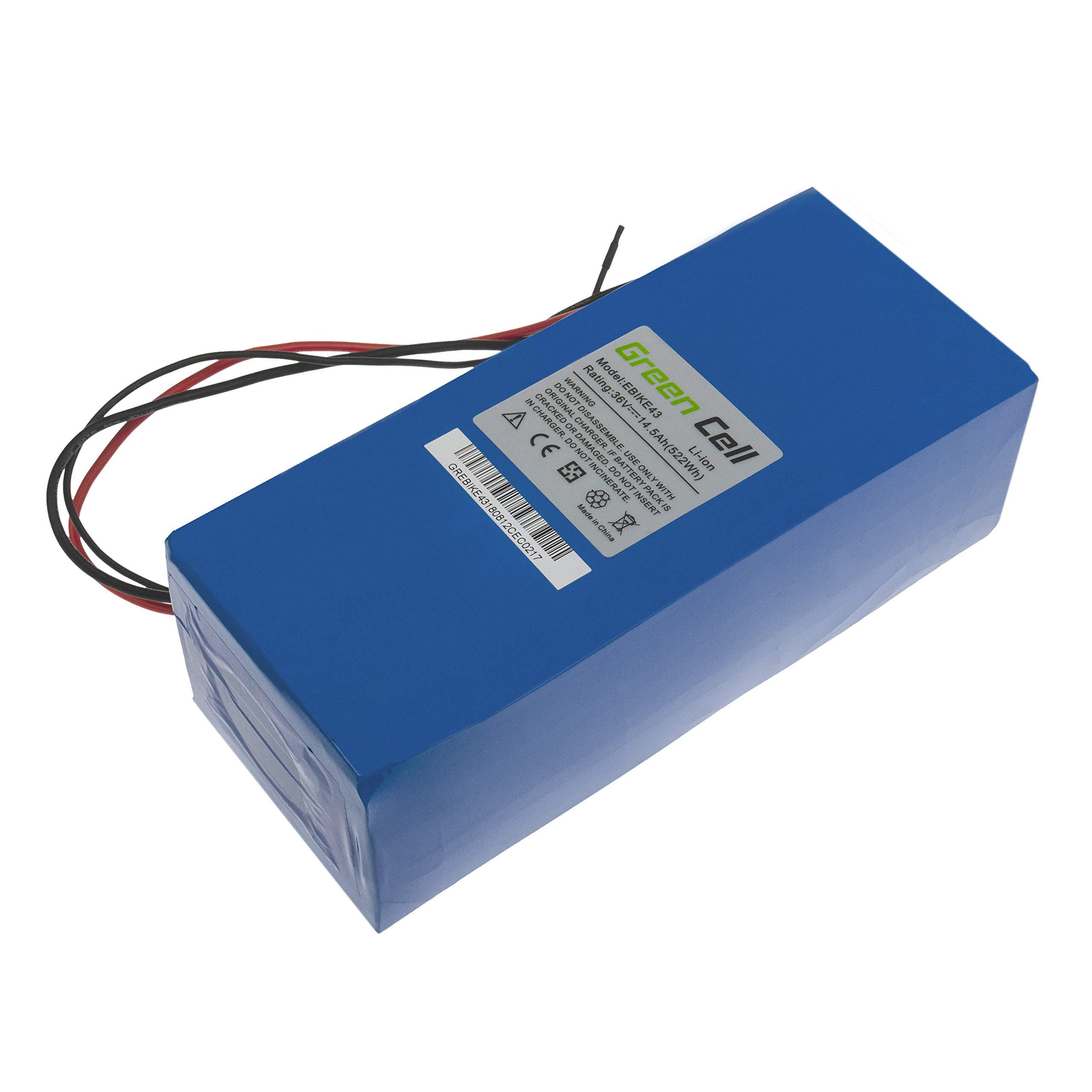 GC® Bateria Bicicleta Electrica 36V 14.5Ah con Celdas Originales Battery Pack Li-Ion: Amazon.es: Electrónica