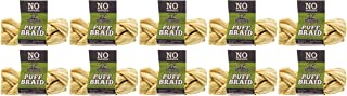 REDBARN Pet Products 10 Pack of Puff Braids, Small, Beef Esophagus Dog Chews