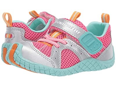 Tsukihoshi Kids Marina (Toddler/Little Kid) (Coral/Silver) Girls Shoes