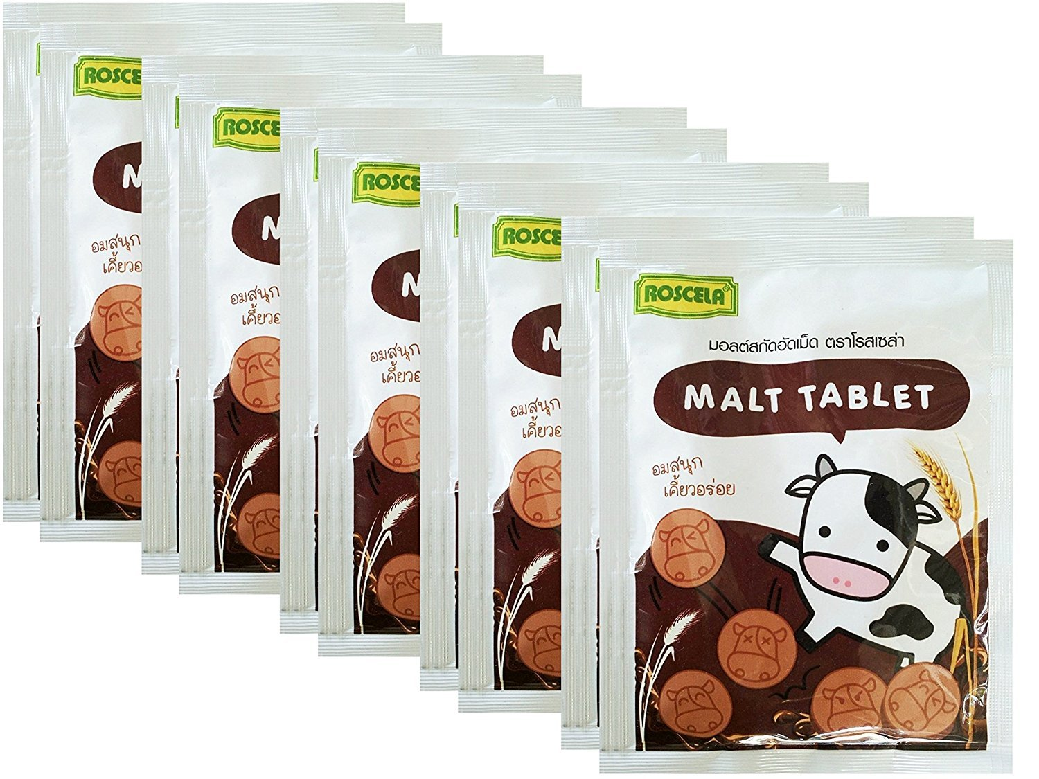 Courier shipping free Roscela Tablet Malt Candy Thai 20g Brand Ranking TOP1 Flavour Sweetened