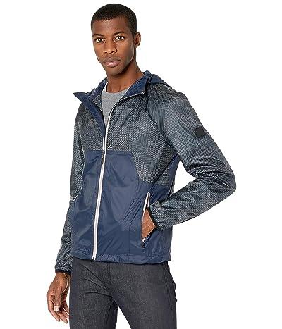 BOSS Hugo Boss J_Martez Water-Repellent Hooded Jacket (Navy) Men