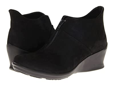 Wolky Destiny (Black Nubuck Leather) Women