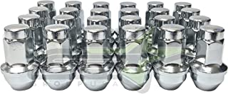 SET Group USA 24PC 14x2 Chrome OEM Factory Replacement Lug Nuts Works with 2004-2014 Ford F-150 Expedition