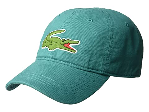 eada1506 ... free shipping lacoste big croc gabardine cap at zappos a84f2 f9c52