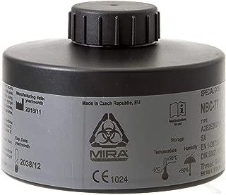 MIRA Multi Gas Vapor Cartridge Respiratory Protection 20 Years Shelf Life CBRN NBC Grade (Mira Filter)