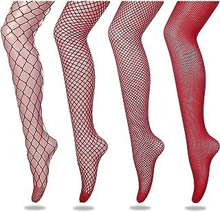 FLORA GUARD High Waist Tights Fishnet Stockings, High Waist Sexy Fishnets Pantyhose