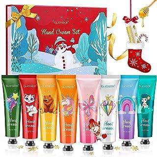 Hand Cream Gift Set GLAMADOR 8 Packs Hand Lotion Enriched Shea Butter,Deeply Moisturizing Hand Cream Kit for Dry Skin,Trav...