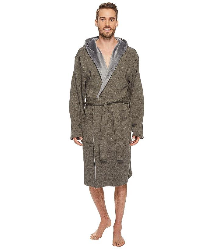 UGG  Brunswick Robe (Rock Ridge Heather) Mens Robe