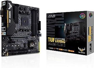 Asus TUF Gaming B450M-PLUS II - Placa Base de Gaming Micro-ATX AM4 AMD B450 con Soporte M.2, Cancelación de Ruido por IA, ...