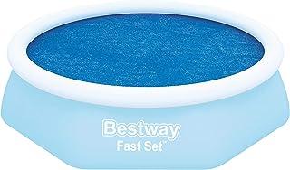 "Bestway 8321479 8321479-Cobertor solar, Azul, para piscinas de 8' x 26""/2.44m x 66 cm"
