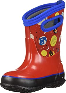bd5fa8f91c Bogs Kids Classic High Waterproof Insulated Rubber Rain and Winter Snow Boot  for Boys