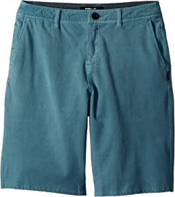 O'Neill Kids - Venture Overdye Hybrid Shorts (Big Kids)