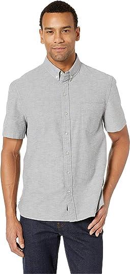 Solid Stretch Oxford Shirt