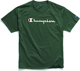 Champion Mens GT23H Classic Jersey Graphic T-Shirt Short Sleeve T-Shirt