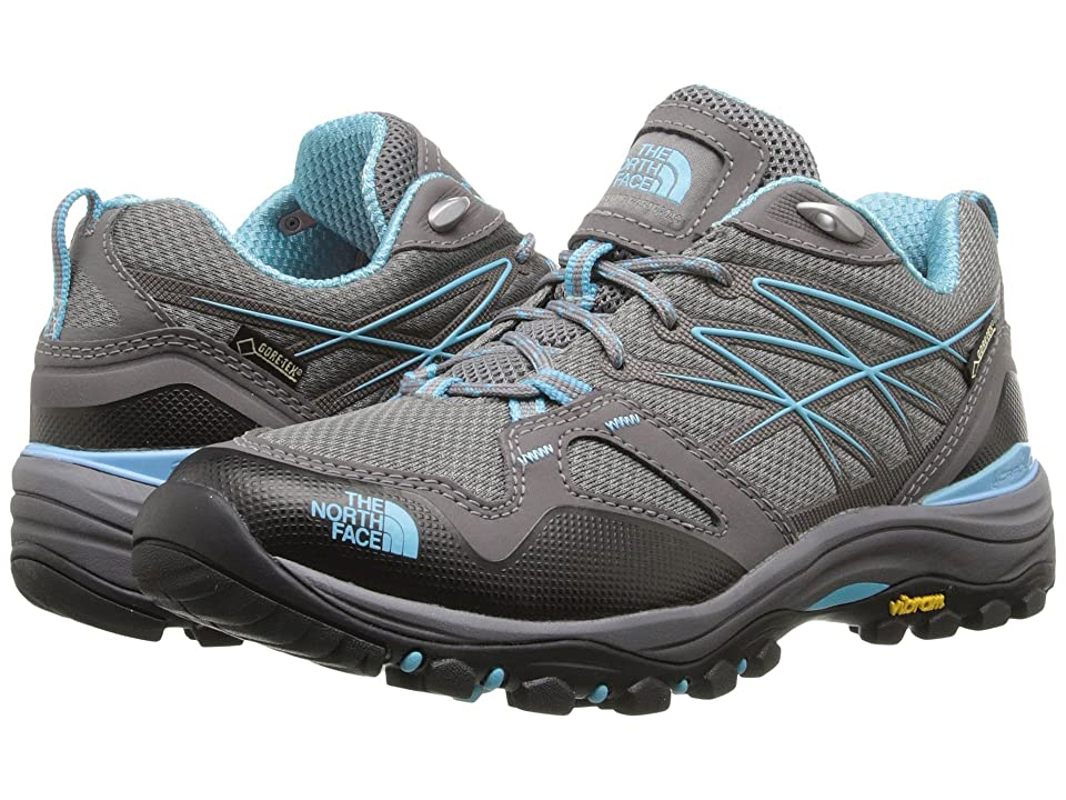 The North Face Hedgehog Fastpack GTX(r) (Dark Gull Grey Fortuna Blue) Women s  Shoes 2ec9ec567e1