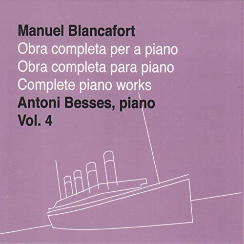 "Resultat d'imatges per a ""complete piano works besses blancafort 4"""
