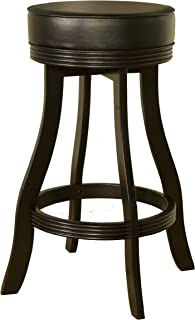 American Heritage Billiards Designer Stool, Black