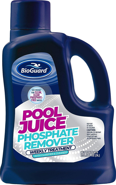 BioGuard Pool Juice Phosphate Remover 格安 価格でご提供いたします L Weekly 3 [正規販売店] - Treatment