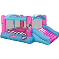 L.O.L. Surprise Jump n Slide Inflatable Bounce House with Blower