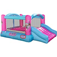 L.O.L. Surprise Jump 'n Slide Inflatable Bounce House with Blower