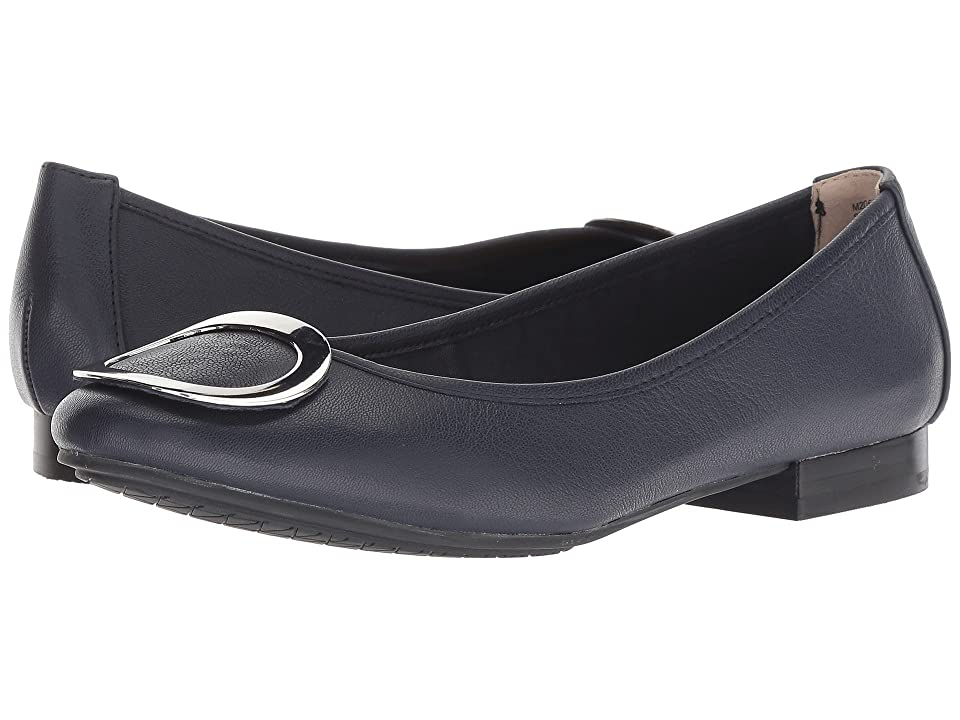 Me Too Sena (Navy/Silver Goat Spore Leather) Women