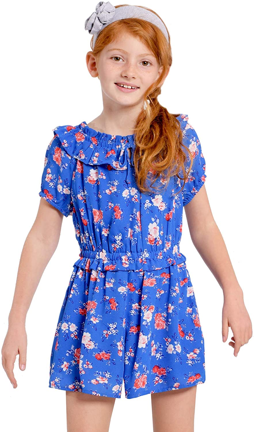 Truly Me Little and Big Short Girls' Sleeve Max 52% OFF Sleeveless Prin List price