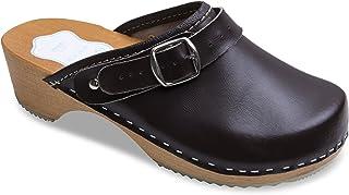 nuevo concepto d4f0c e84b8 Amazon.es: Marrón - Zuecos / Zapatos para mujer: Zapatos y ...