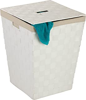 Honey-Can-Do Woven Hamper With Liner
