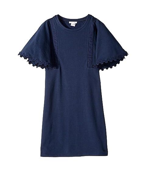 Chloe Kids Dress w/ Dot Embellishments On Sleeves (Big Kids)